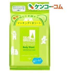 シーブリーズ ボディシート (L) ヴァーベナクールの香り ( 30枚入 )/ シーブリーズ
