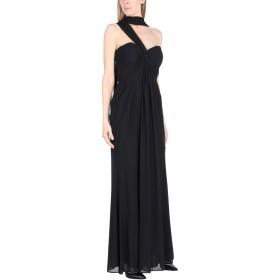 《送料無料》VIVIEN V. LUXURY レディース ロングワンピース&ドレス ブラック 50 ポリエステル 100%