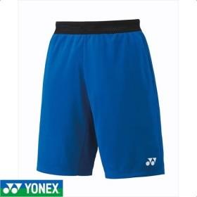 [YONEX]ヨネックス メンズテニスウェア ニットハーフパンツ (15075)(002) ブルー[取寄商品]