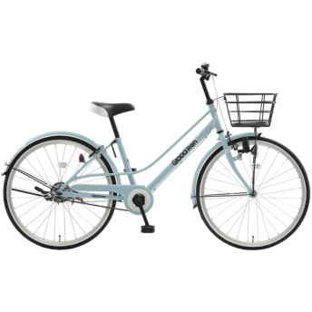 24型 自転車 グッドラン24(ソフトブルーマット/シングルシフト)CRC24【2019年モデル】