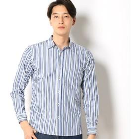 [マルイ]【セール】マルチストライプレギュラーカラーシャツ/メンズメルローズ(MEN'S MELROSE)