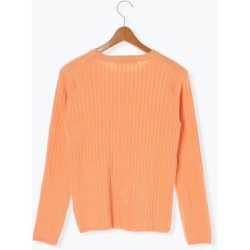 ニット・セーター - Lugnoncure ワイドリブクループルオーバー