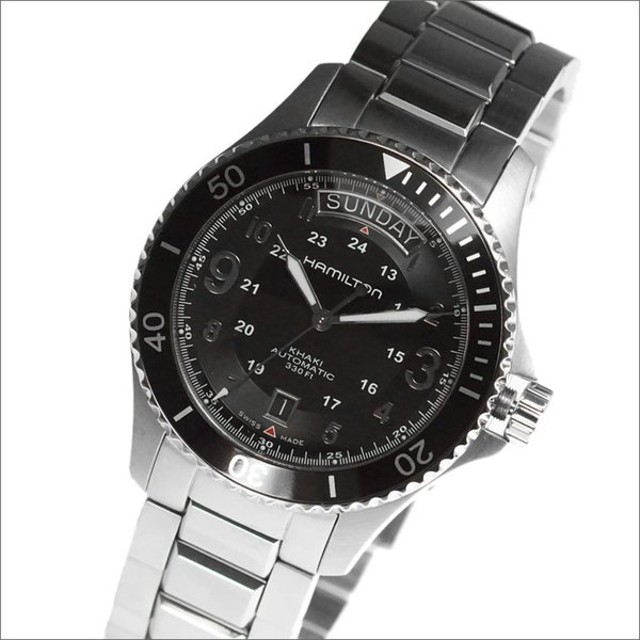 online store 4c76e ab024 HAMILTON ハミルトン 腕時計 H64515133 メンズ Khaki King Scuba ...