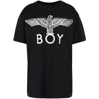 《期間限定セール開催中!》BOY LONDON レディース T シャツ ブラック S コットン 100% BOY EAGLE TEE