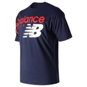 ニューバランス(new balance) アスレチッククロスオーバー半袖Tシャツ MT91512PGM (Men's)