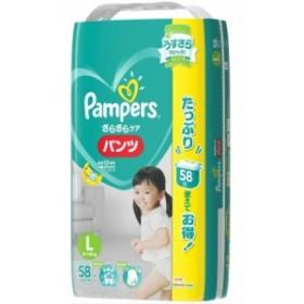 パンパース さらさらパンツ ウルトラジャンボ Lサイズ : P&G