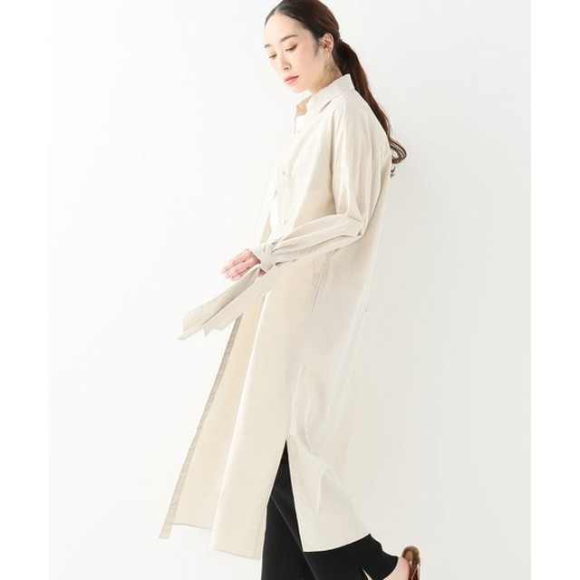JOINT WORKS NAME COTTON PATCHED DRESS ベージュ フリー