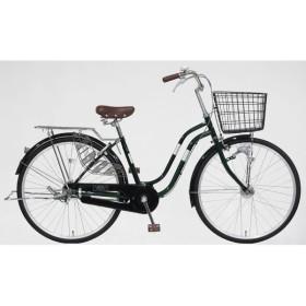 26型 自転車 シエスタ 26SBS(ディープグリーン/シングルシフト)T6SBS #237