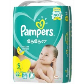 パンパース さらさらケア(テープ) スーパ-ジャンボ Sサイズ : P&G