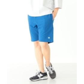 【予約】Champion / 別注 リバースウィーブ ショーツ レディース ショートパンツ BLUE ONE SIZE