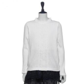 アナスイミニ/入卒立ち衿インナーシャツ