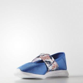 (セール)adidas(アディダス)シューズ カジュアル CLOUDFOAM PUREMJ GKM68 F99581 レディース ブルー/ランニングホワイト/サングロー S16