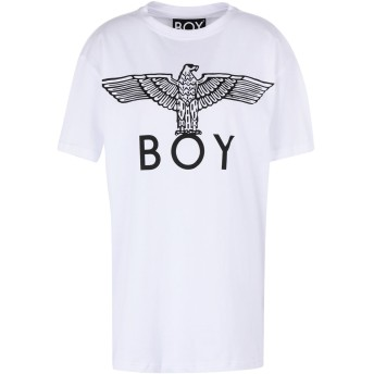 《期間限定セール開催中!》BOY LONDON レディース T シャツ ホワイト S コットン 100% BOY EAGLE TEE