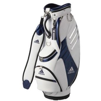 (セール)(送料無料)adidas(アディダス)ゴルフ メンズキャディーバッグ キャディバッグ 3 AWS17-A15691 メンズ FREE ホワイト/ネイビー