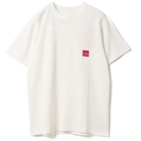 Manhattan Portage / ロゴ プリント Tシャツ 19SS レディース Tシャツ WHITE XS