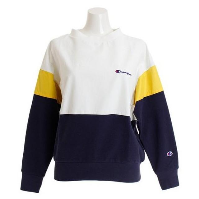 チャンピオン-ヘリテイジ(CHAMPION-HERITAGE) クルーネックスウェットシャツ CW-P008 370 (Lady's)