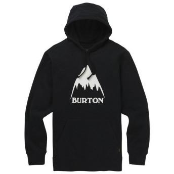 (セール)BURTON(バートン)トレッキング アウトドア スウェット CLASSIC MOUNTAIN HIGH PULLOVER HOODIE 20389100001S メンズ S TRUE BLACK
