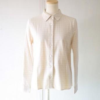ビエラチェックのシンプルシャツ