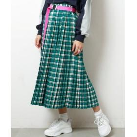 [マルイ]【セール】チェックプリーツスカート/ダブルネーム(DOUBLE NAME)