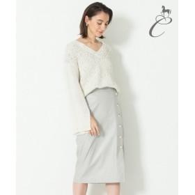 自由区 / ジユウク 【Class Lounge】SPRING LEATHER スカート