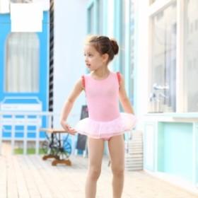 水着 女の子 ワンピース プール キッズ ビーチ 海水浴 キャップ付き 2点セット スイムウェア ジュニア かわいい 子供 バレエ 夏 スイムウ