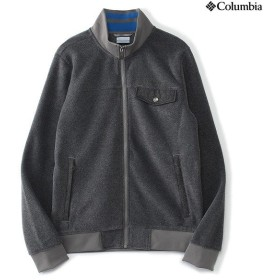 (セール)Columbia(コロンビア)トレッキング アウトドア フリース チェスターポイントフルジップジャケット PM1333-003 メンズ BOULDER HEATHER