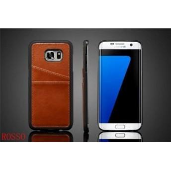 Galaxy S7 edgeケース 背面保護カバー かっこいい おしゃれ