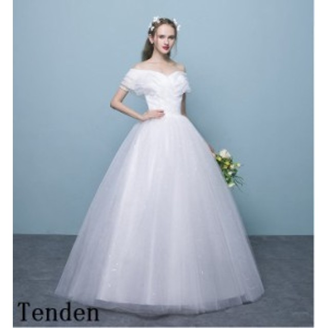 1bb0bc2cdc8a7 ウェディングドレス 二次会 ウエディングドレス 結婚式 長袖 ベアトップ レース刺繍二次会ドレス 花嫁ドレス