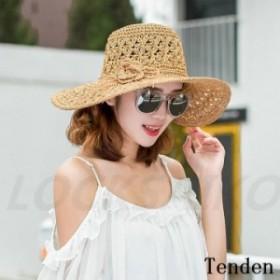 帽子 麦わら帽子 ワイドハット 日よけ 紫外線対策 ママ レディース UVカット ぼうし 折りたたみ 紫外線カット 上品 オシャレ 小顔効果抜