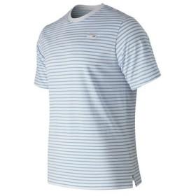 ニューバランス(new balance) アスレチックストライプ半袖Tシャツ AMT91561SSY (Men's)
