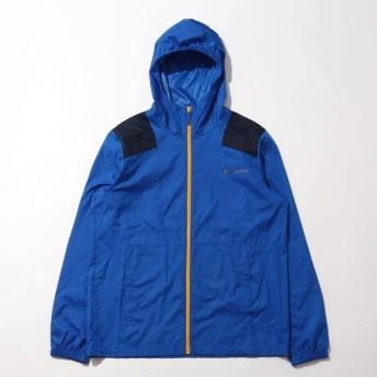 (送料無料)Columbia(コロンビア)トレッキング アウトドア 薄手ジャケット フラッシュバックウィンドブレーカー KE3972-439 メンズ SUPER BLUE  CO