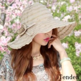 帽子 つば広ハット レディース 旅行 オシャレ 紫外線対策 きれいめ 春 日除け 可愛い 日焼け対策 夏 UVカット ワイド ワイドハット 折り