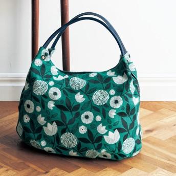 スペイン製のゴブラン織り生地使いトートバッグ[日本製]