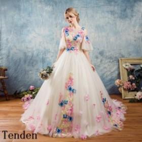 8a062b2779425 カラードレス オフショルダー ウエディングドレス 手作り パーティー 花嫁カラードレス 二次会 プリンセスライン 披露宴 豪華