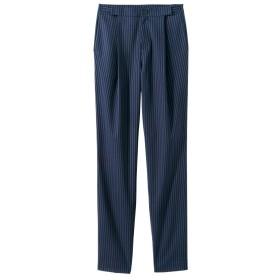 アジャスター付9分丈テーパードパンツ(ゆったりヒップ)(股下65cm) (大きいサイズレディース)パンツ,plus size