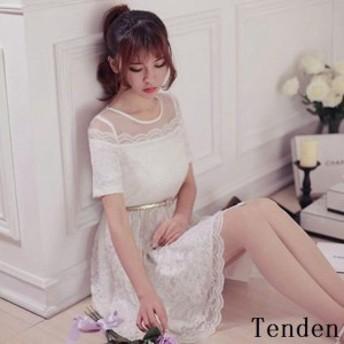 レディース激安 新作 新品 清潔 オシャレ スタイル 安い 浅いカラー ワンピース ピンク ホワイト 刺繍レース かわいい 女性らしい