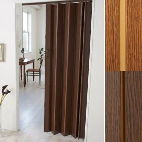 間仕切りに!間口のドア代わりに!シンプル木目調パネルドア
