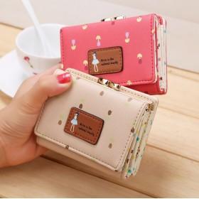 女の子 韓国ファッション 財布 レディース 二つ折り 小銭入れ 高級 レザー ラウンドファスナー 財布 韓国 財布 レディース