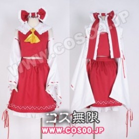 東方Project 東方萃夢想◆博麗霊夢◆コスプレ衣装