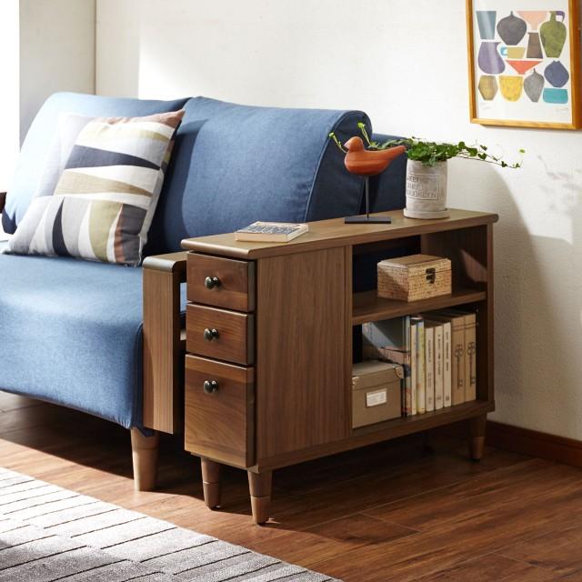 高さが調整できるソファーサイドテーブル