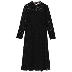 Kaon / インナー付きハイネックレースドレス