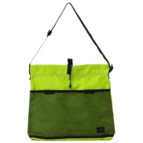 BAL × PORTER / DRAWSTRING SHOULDER BAG メンズ ショルダーバッグ LIME ONE SIZE