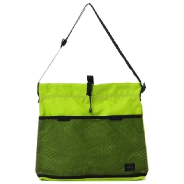BAL × PORTER / DRAWSTRING SHOULDER BAG メンズ ショルダーバッグ LIME ONE SIZE
