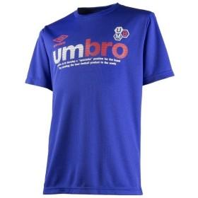 (セール)UMBRO(アンブロ)ジュニアスポーツウェア Tシャツ JR.グラフィックドライ S/S シャツ UCS7658J ボーイズ BLU