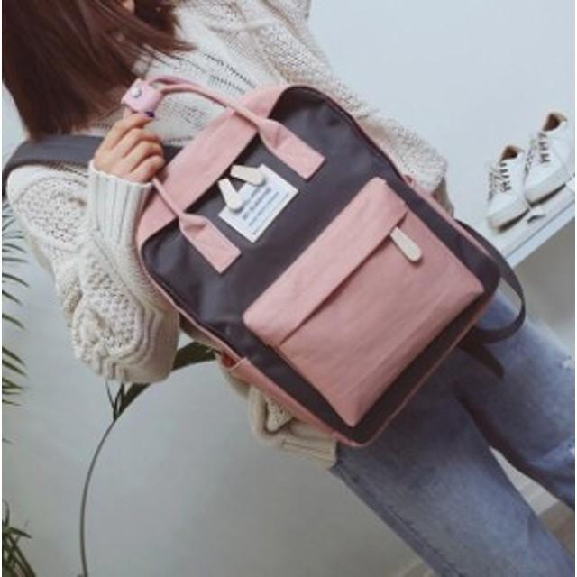 a0ccd07632c 安いし可愛い! 韓国ファッション/大容量トートバッグ レディース キャンバスリュック 通勤バッグ