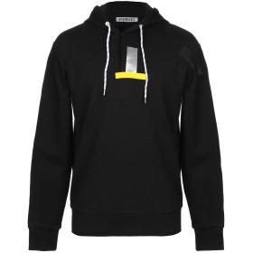 《期間限定セール開催中!》BIKKEMBERGS メンズ スウェットシャツ ブラック S コットン 100% / ポリウレタン