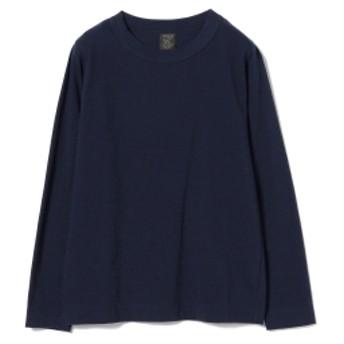 <WOMEN> homspun / ロングスリーブ Tシャツ レディース Tシャツ NAVY M
