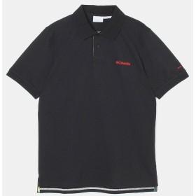(セール)Columbia(コロンビア)トレッキング アウトドア 半袖Tシャツ ポストヘイツポロ PM4461-010 メンズ BLACK
