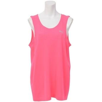 (セール)PUMA(プーマ)レディーススポーツウェア ワークアウトTシャツ TOPS エヴォニット タンク 59076635 レディース KNOCKOUT PINK