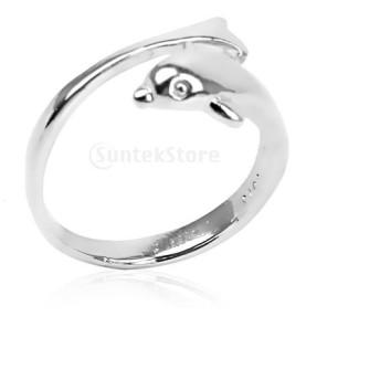 指輪 リング 調整可能なリング イルカの指輪